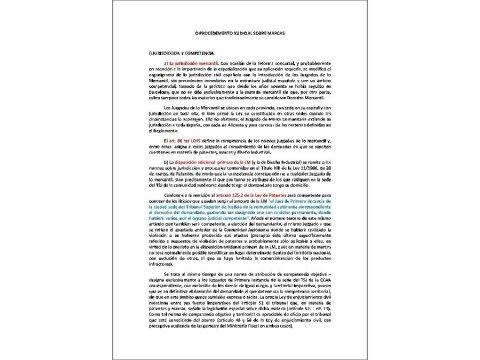 Presentación Pablo González-Carrero Fajón, maxistrado Xulgado Mercantil número 1 A Coruña - Curso de Marcas